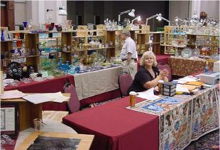 National Collection booth