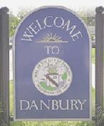 Danbury sign