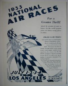 National Air Races 1933