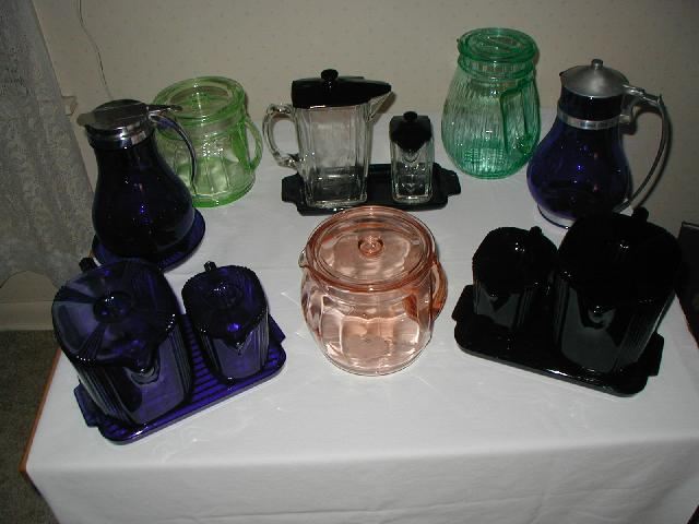 Various Batter Jugs